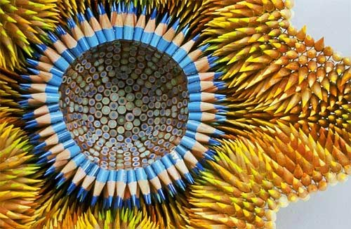 pencil sculpture von Jennifer Maestre