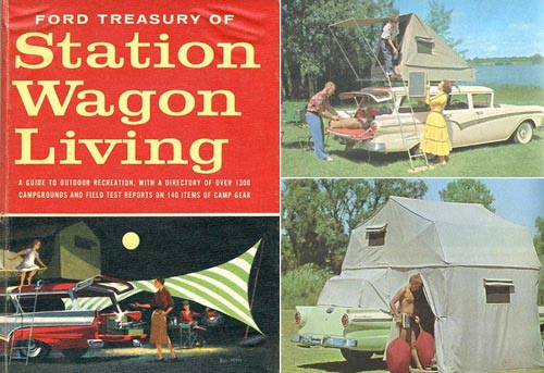 station wagon living book