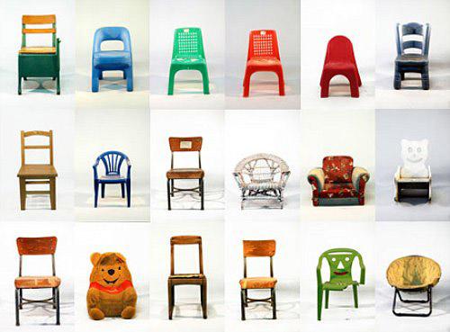 Kid Chair Poster | Handmade Charlotte