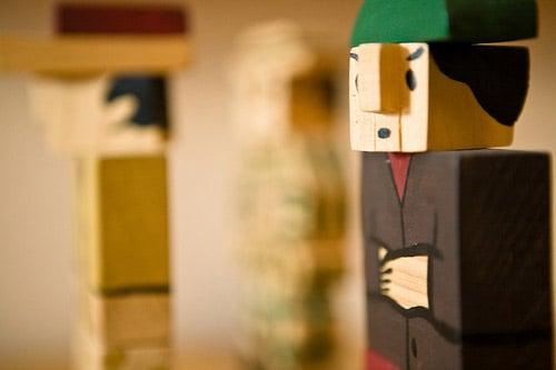Block Toys by Joaquín Torres García