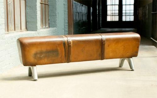 Vintage Pommel Horse Bench
