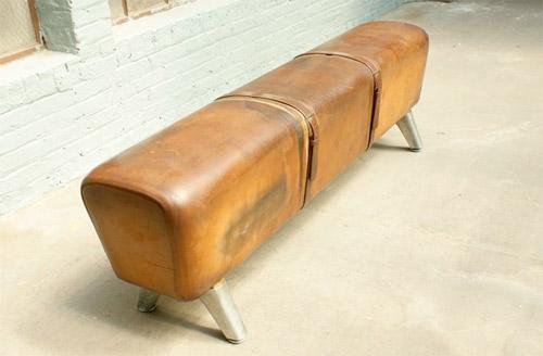 vintage pommel horse bench handmade charlotte