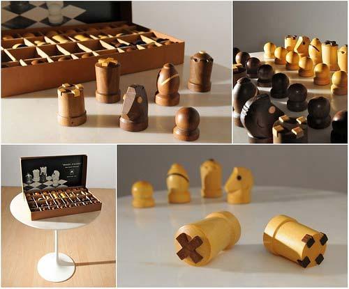 Modern Staunton Chess Set by Arthur Elliott | Handmade ...