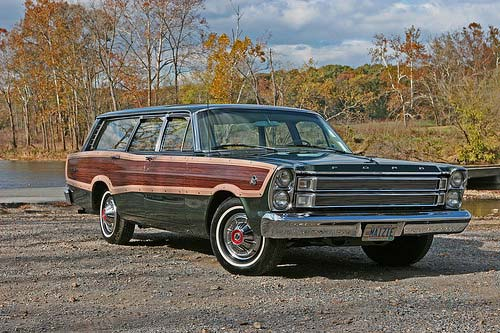 Country Squire wagon, carefully restored by owner Rick Otis