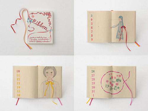 Creative Handmade Calendar : Ribbon calendar ⋆ handmade charlotte