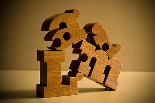 Nuzzles Wooden Name Puzzles by Etsy Seller fidodidojohn