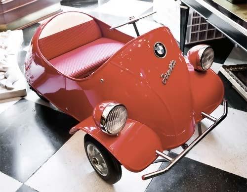 isetta pedal car