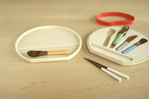 urushi cutlery for kids