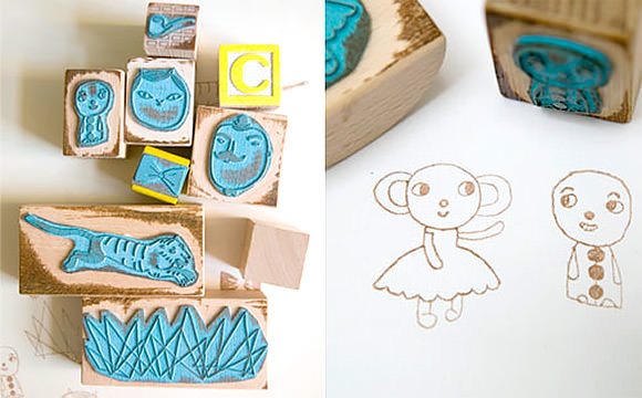 Circus Violet Rubber Stamps by Studio Violet