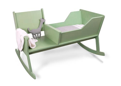 Attirant Rocking Chair Cradle Rocking Chair Cradle