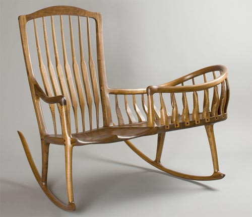 Admirable Rocking Chair Cradles Handmade Charlotte Gmtry Best Dining Table And Chair Ideas Images Gmtryco