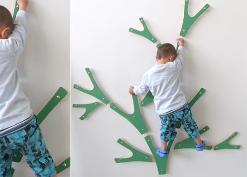 Indoor Climbing Tree ⋆ Handmade Charlotte
