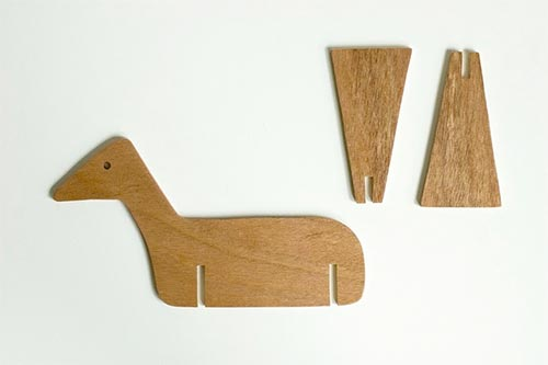 made by joel wooden horse toy