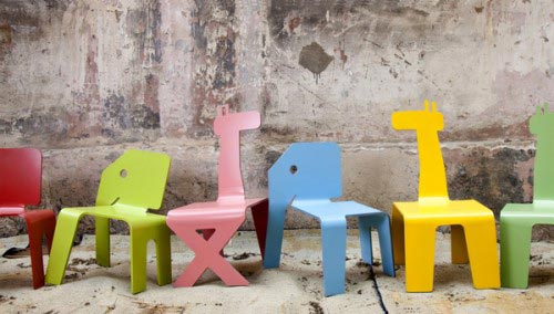 Zelig Animal Chairs Handmade Charlotte - Animal-chairs-for-children