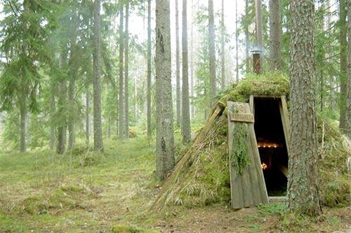 Swedish Forest Hut