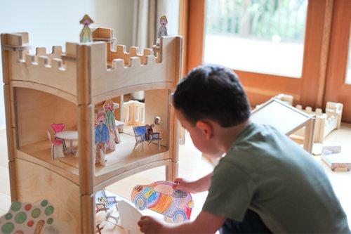 Stackhouse Wooden Modular Dollhouse