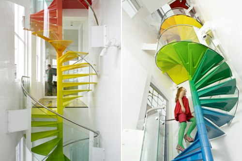 Rainbow House in London by Ab Rogers Design