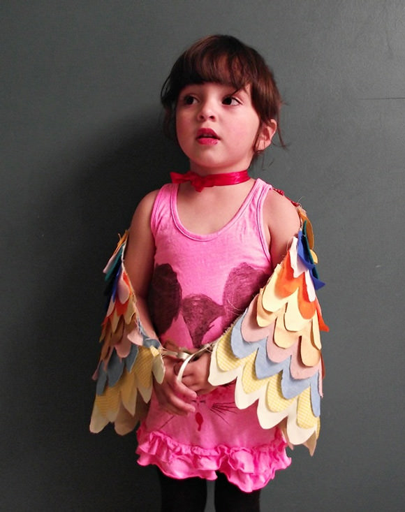 DIY Bird Wings Costume for Kids