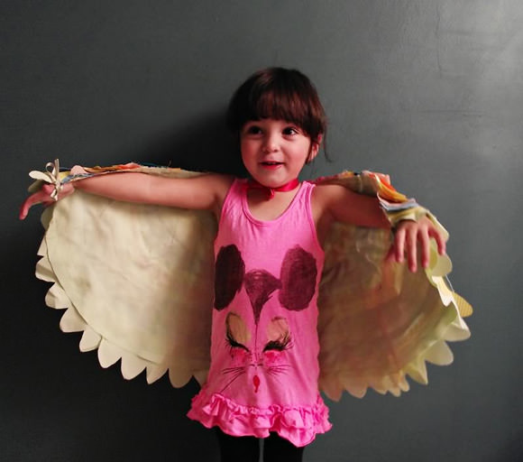 DIY Bird Wings Costume