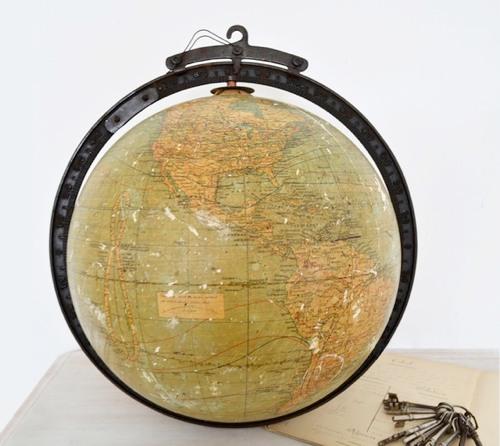 Etsy Finds 1920s Hanging Globe Handmade Charlotte