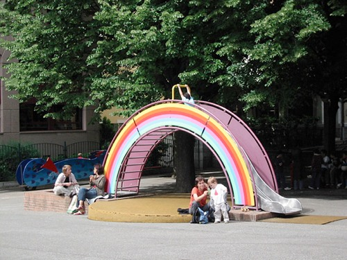 Community Rainbow Slide Geneva