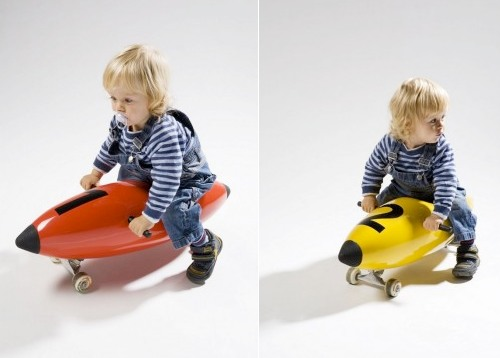 Torpedo Ride-On Toy for Kids