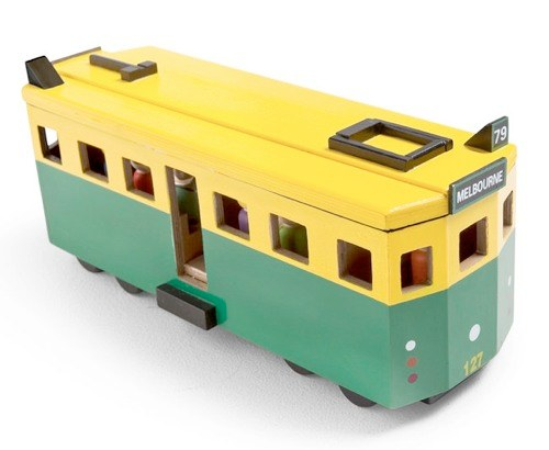 Iconic Toy Tram by Make Me Iconic