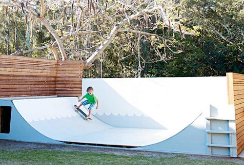 Backyard Skate Ramp