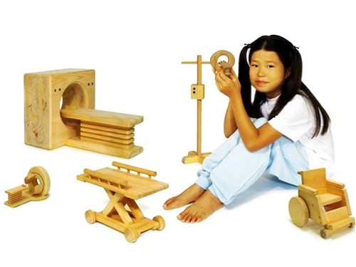Wooden Toys Designed To Ease Hospital Fears Handmade