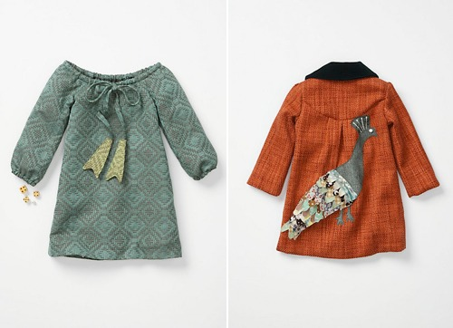 handmade charlotte children's clothes at anthropology