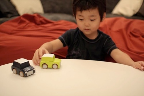 Wooden Toy Cars