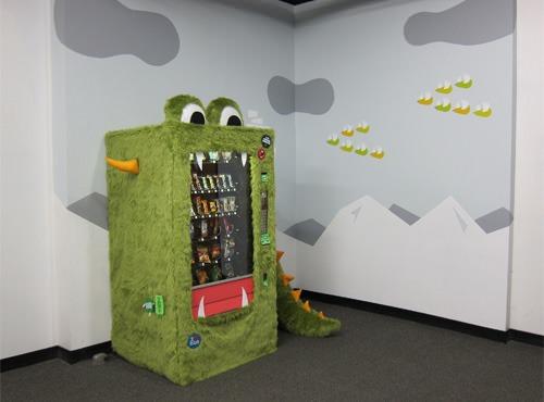 Goodie Monster Vending Machine
