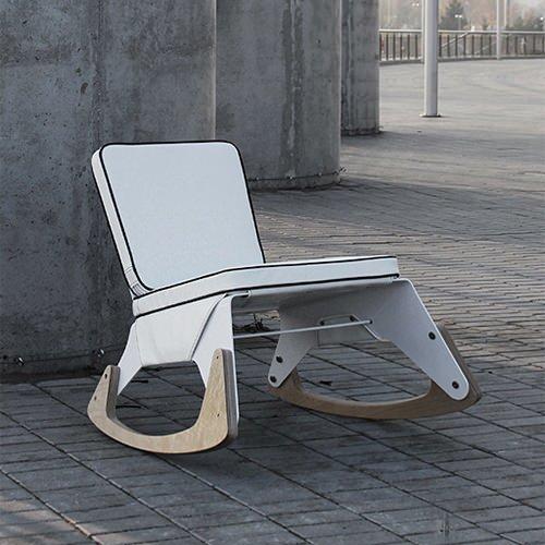 Excellent Mod Rocker Handmade Charlotte Lamtechconsult Wood Chair Design Ideas Lamtechconsultcom