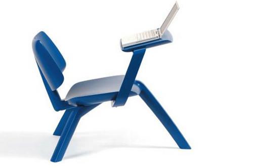 Modern Minimal Chair Desk Handmade Charlotte