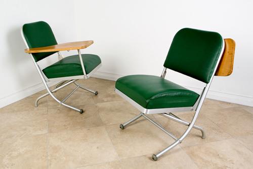 Folding Chair Desk by Warren MacArthur