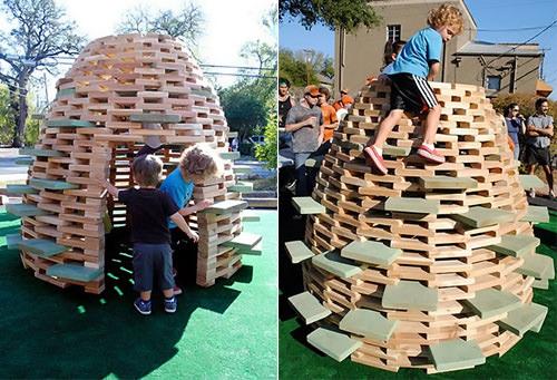 DIY Play Hive
