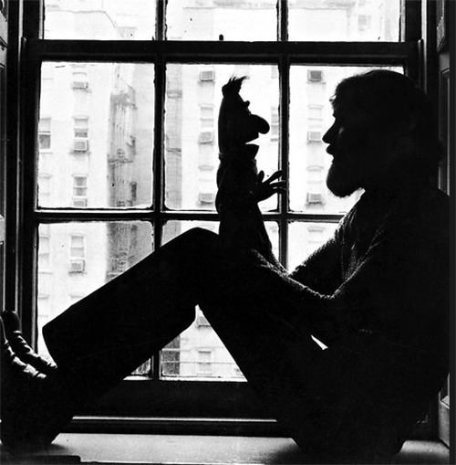 Jim Henson and Ernie Sesame Street Puppet