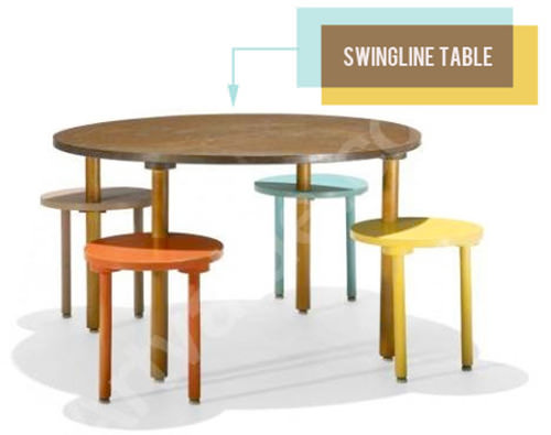 swingline table for children by henry glass