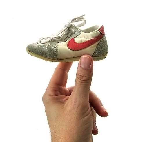 Vintage Nike Shoes / Sneakers for Kids via Wary Meyers