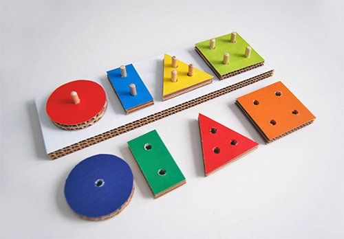 DIY Cardboard Learning Toys