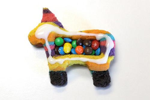 Las cookies de bricolaje Piñata