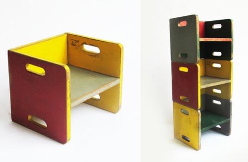 Exceptionnel Mondocane Childrenu0027s Exhibit. Childrenu0027s Cube Chairs
