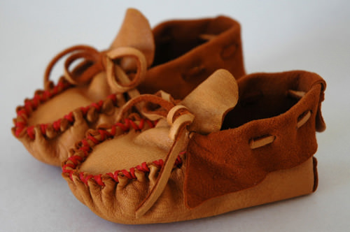 child's moccassins