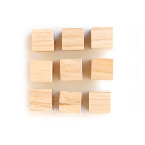 diy wood blocks