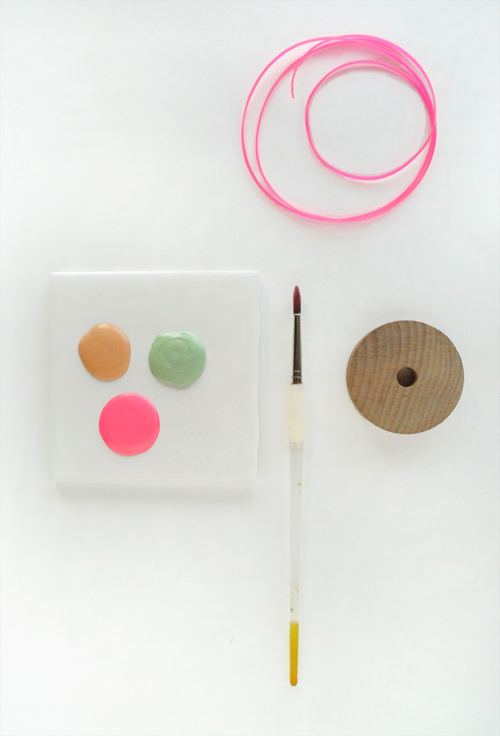 diy pinwheel necklace