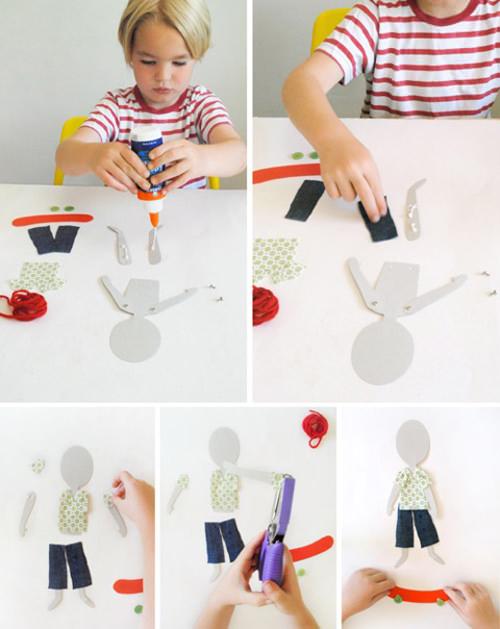 diy paper dolls