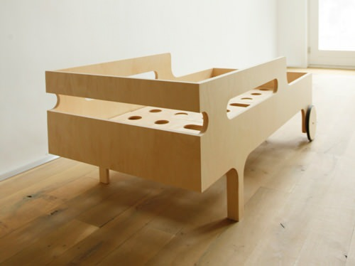 Modern Toddler Bed By Rafa Kids