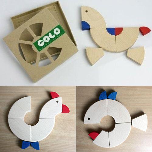 golo wooden puzzle