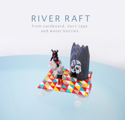 DIY Duct Tape River Raft