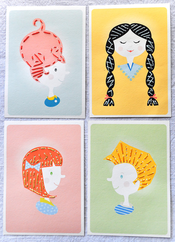 Printable Sewing Cards